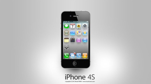 Photoshop'da Apple iPhone 4S (PSD) Yapmak